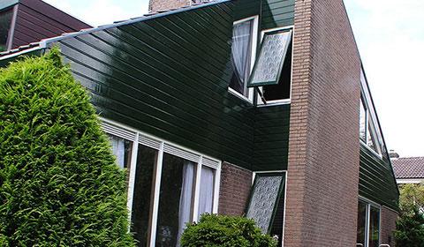 Projecten overzicht binnen en buiten schilderwerk ksh for Compleet huis laten bouwen